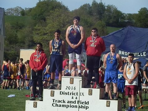 Two DCC Athletes Take First Place in District Track Competition