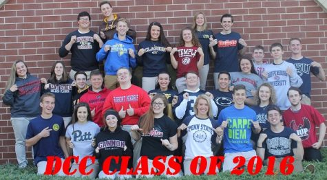 DCC Class of 2016 has 100% After Graduation Placement