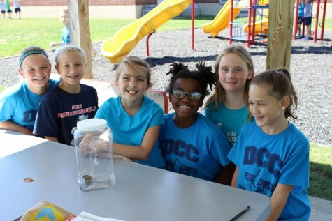 DCC 5th Grade Students Enjoy Butterfly Release