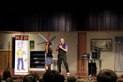 The NED Show Wows DCC Elementary Students