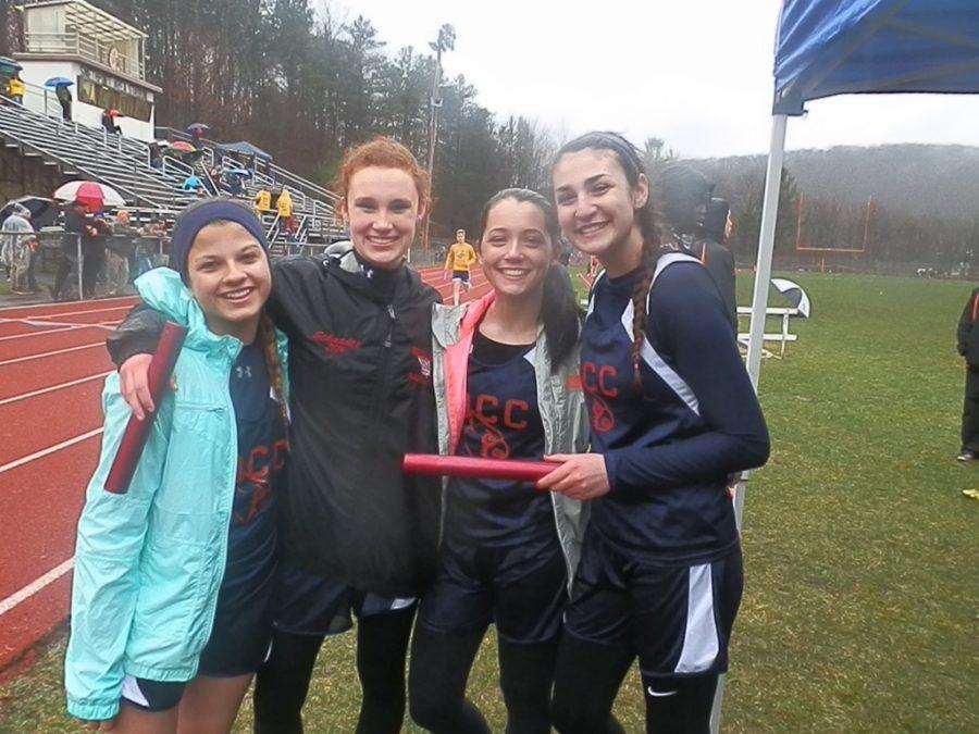 Cardinals Start with Two Team Wins in Track
