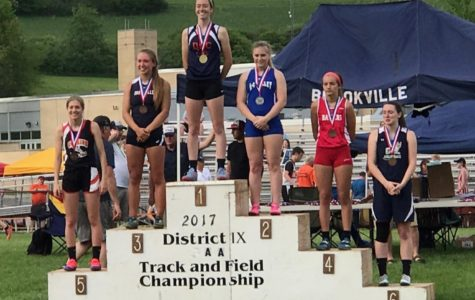 DCC Records Fall at Districts: Riley Meyers Qualifies for States