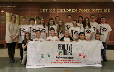 DCC Joins up with Brockway for Drug Prevention Assembly