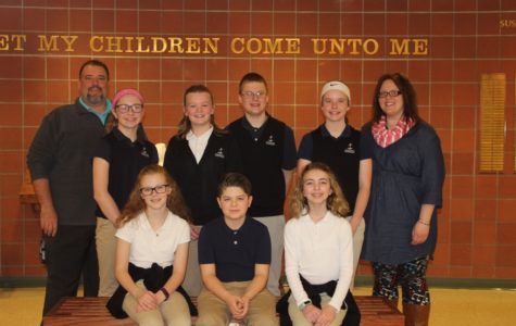 DCC Wins First Level of Diocesean Religion Bee