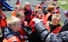 Kindergarten Helps out for Earth Day