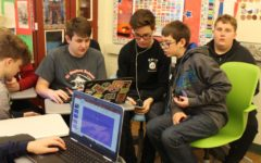8th Graders from St. Francis School Visit DCC