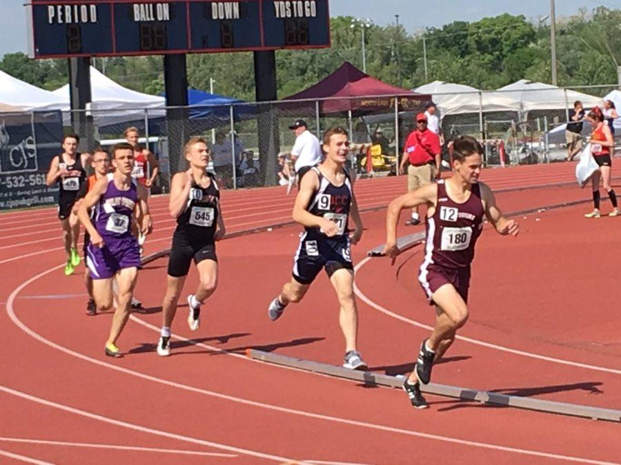 DCC's NICHOLS CAPS SEASON WITH EXCITING RACE AT STATES