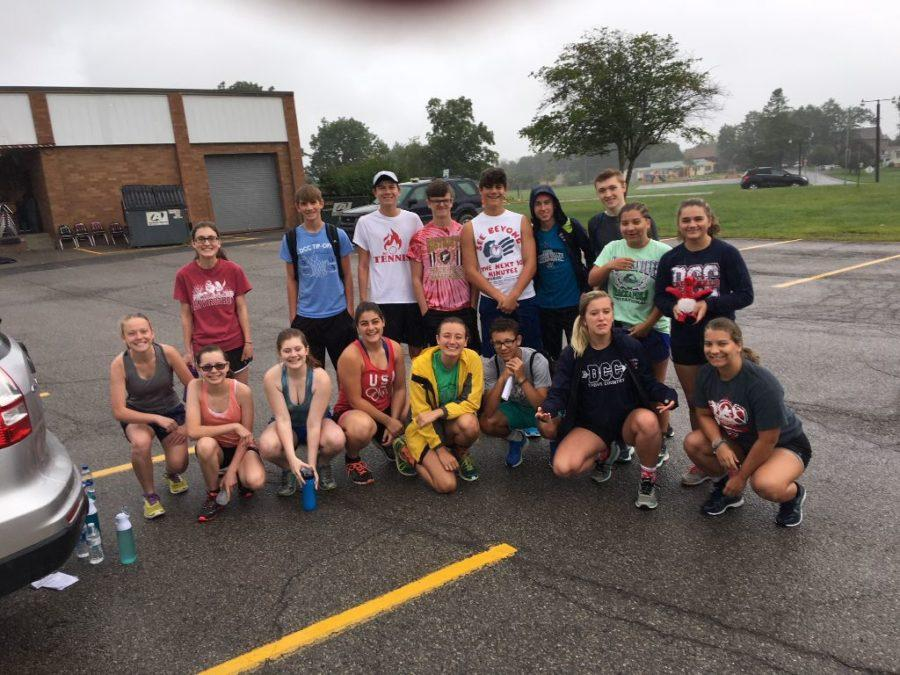 DCC Cross Country Features Big Numbers and Returning Runners