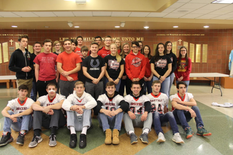 DCC Students Supports Our Football Players
