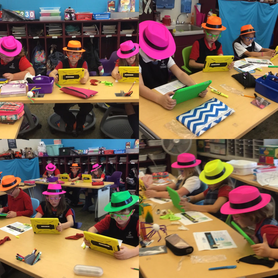 DCC 3rd Graders Become Reading Detectives