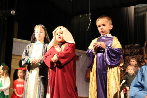 DCC Preschool Christmas Program - Video and Pictures