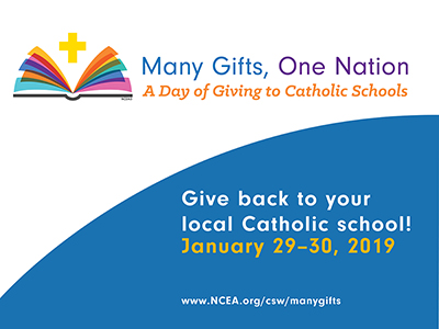 A Day of Giving to Catholic Schools -Jan. 29-30