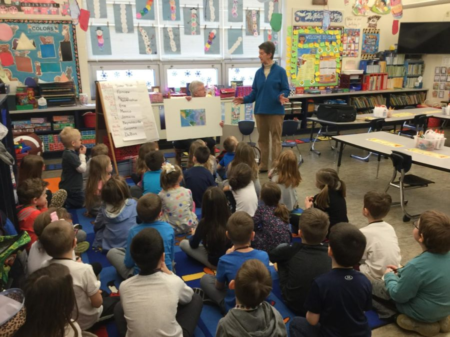 Kindergarten Enjoys Special Relationship with Sisters of Mercy