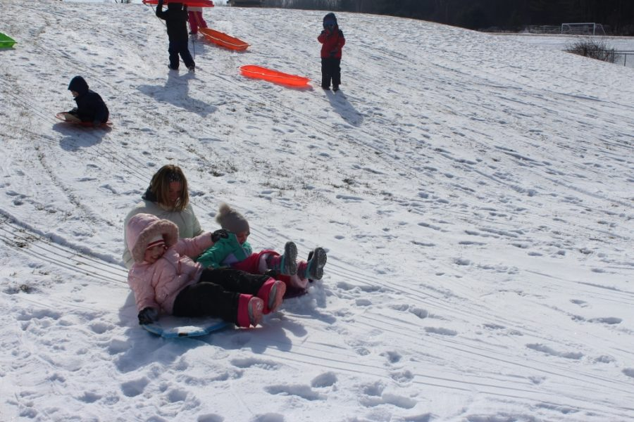 DCC Pre-School Says Goodbye to Winter - Many Photos