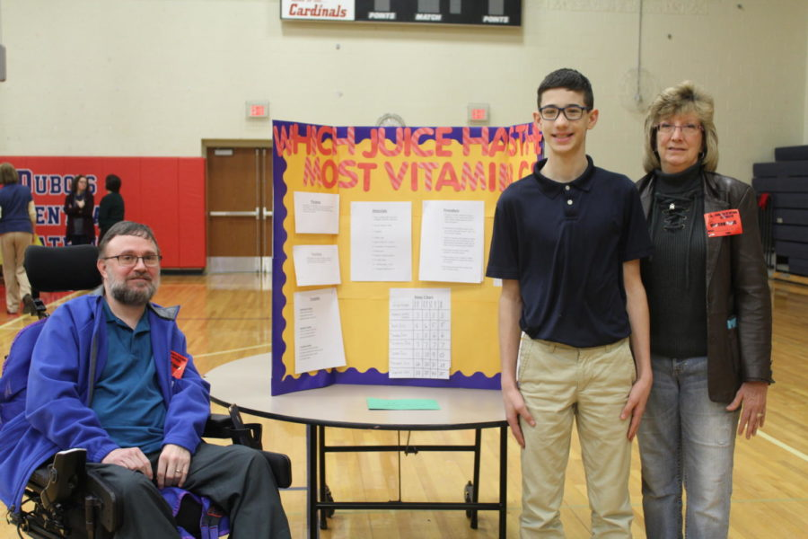 DCC Seventh Grade Science Fair Shows a Love of Learning