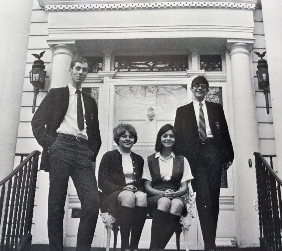 #TBT Throwback to the Senior Class Officers of the Class of 1970