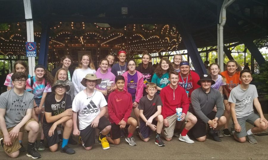 DCC+8th+Graders+Enjoyed+a+Trip+to+Kennywood