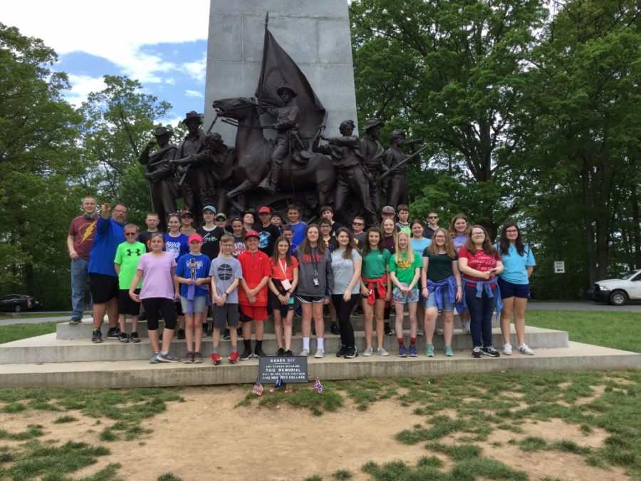 DCC+6th+Grade+Explore+the+Battlefields+of+Gettysburg+-+Lot+of+Photos