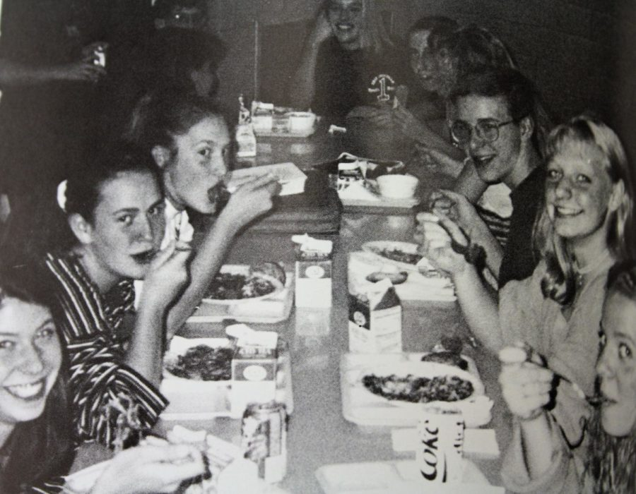 #TBT Throwback to Lunch in 1995