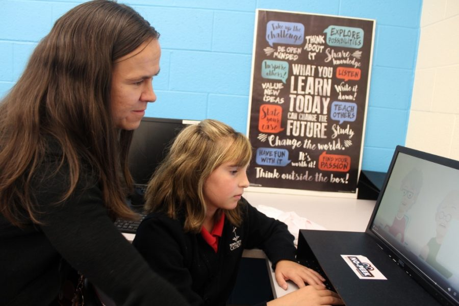 DCC Welcomes Miss Finale as the New Elementary Tech Teacher