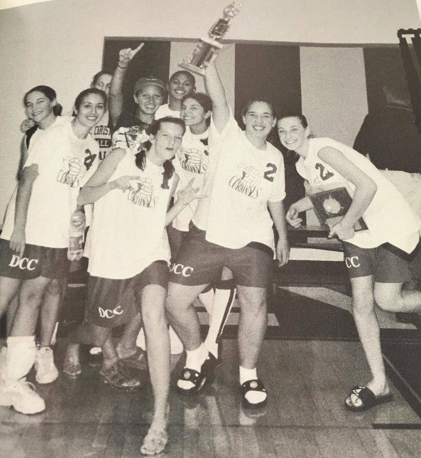 #TBT Throwback to the DCC Varsity Volleyball Team of 1999-2000