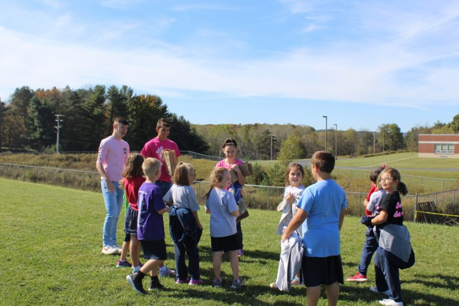 Second Graders Enjoy Learning About Ecology