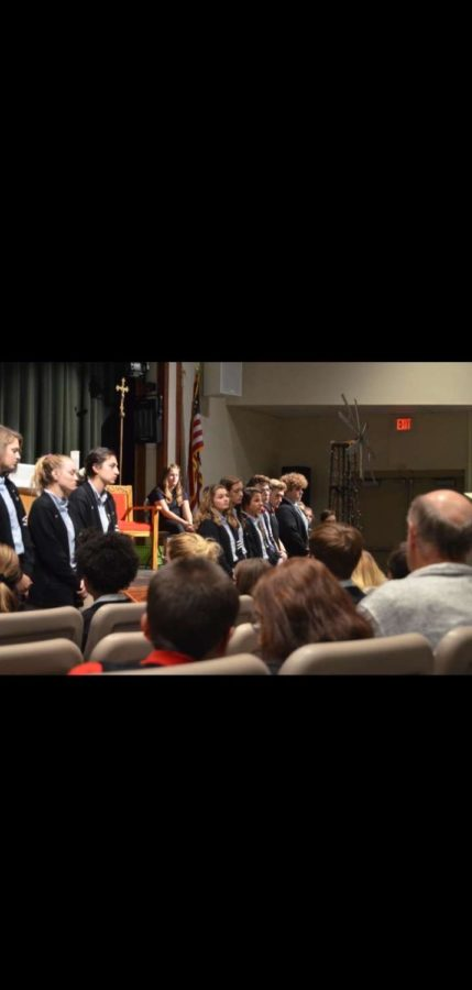 Seniors Installed as Eucharistic Ministers
