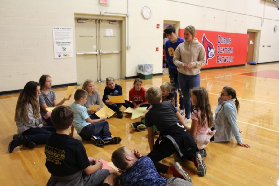 DCC and St. Francis 6th Grade Come Together For Retreat with a Little Drama Thrown In
