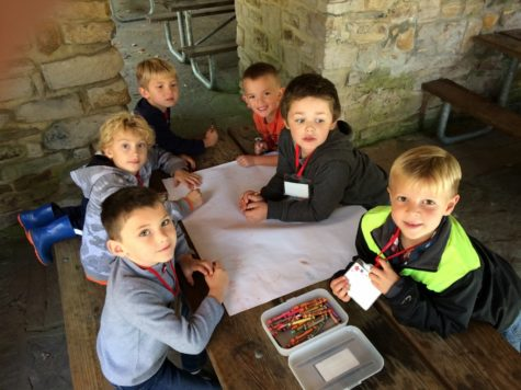 Kindergarten Heads Into the Woods For Fall Fun