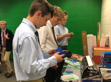 DCC Biology Students Put Maker Space to Good Use!