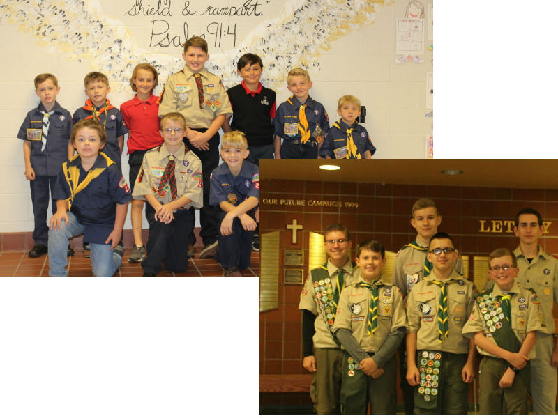 Boy Scouts Hold Rally Against Bullying