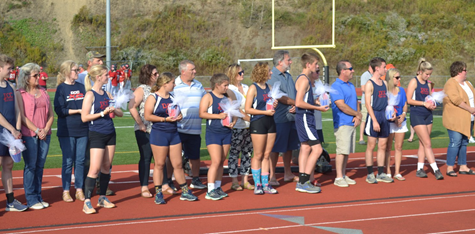 DCC Cross Country Celebrate Senior Night
