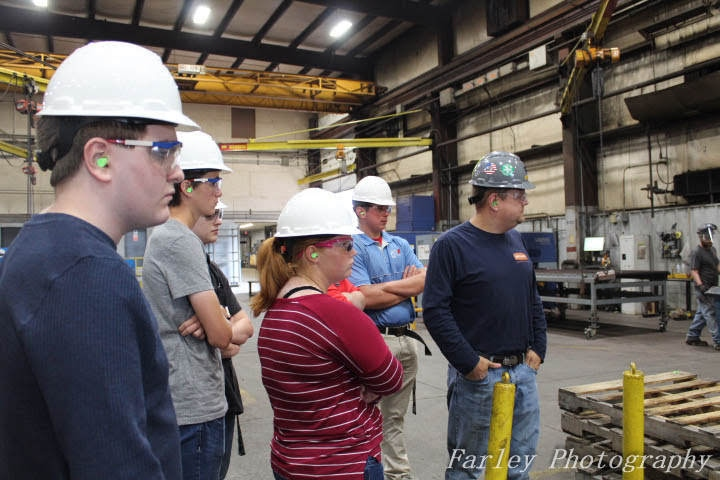 DCC+Students+Visit+Miller+Fabrication+Companies