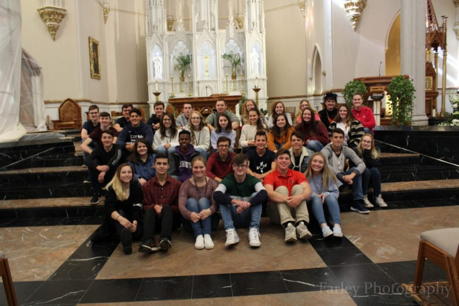 Juniors Take Yearly Trip to Saint Peter Cathedral