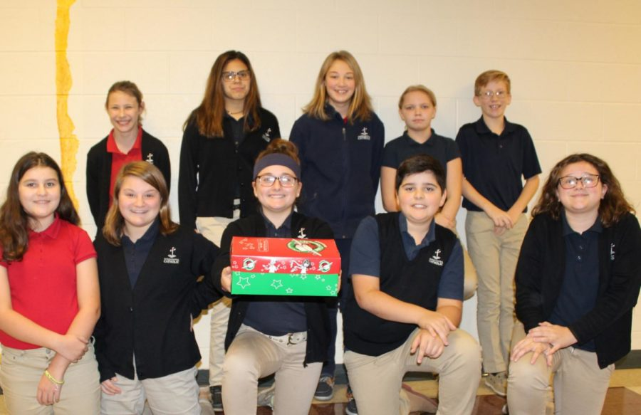 DCC Theology Classes Participate in Operation Christmas Child