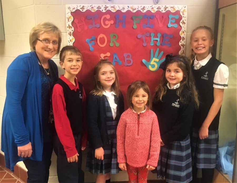 DCC+Elementary+Recognizes+Fab+Five+for+October
