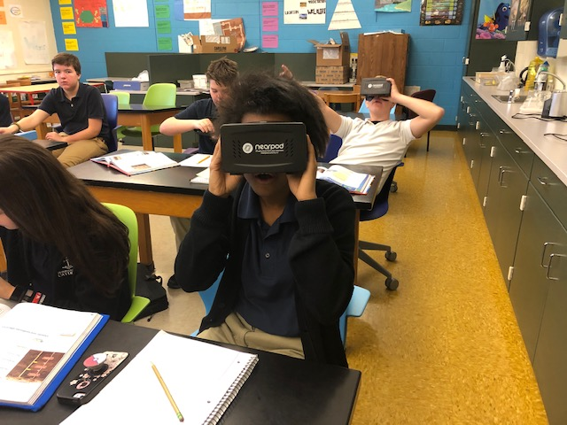 Mrs.+Stringers+8th+Grade+Classes+Witness+Virtual+Reality