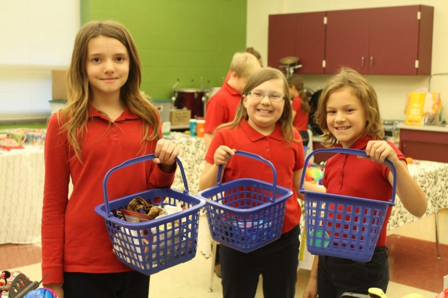 Santa's Workshop Gives Elementary Students a Chance to Shop
