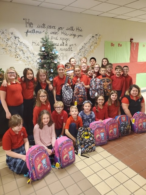 DCC 4th Graders Donate to Project Smile