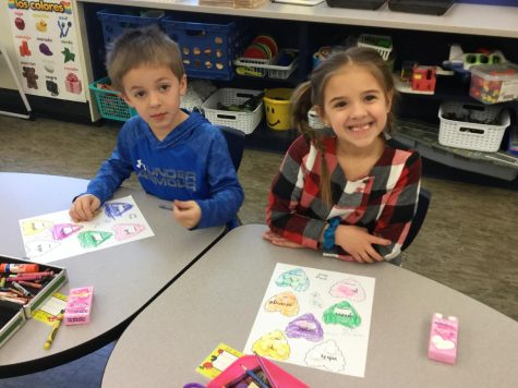 Valentine Math in Kindergarten