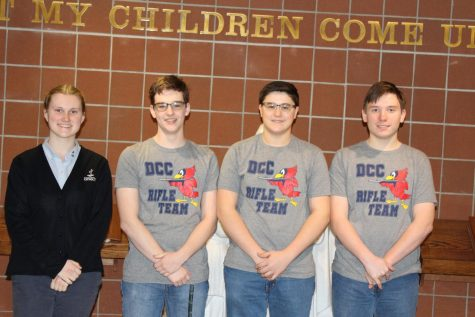 DCC to Send 4 Members of Rifle Team to States!