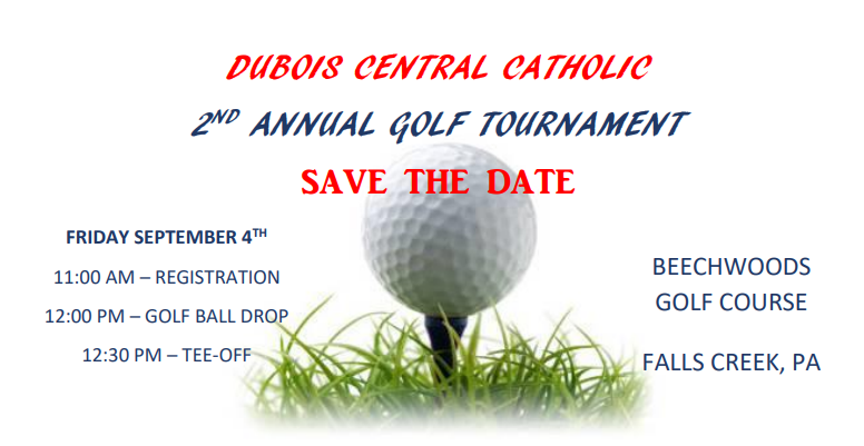 Save the Date for DCC's Second Annual Golf Tournament