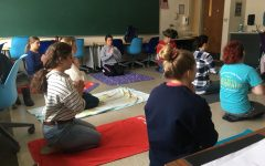 DCC Seniors Combined the Rosary and Yoga in Soul Core Activity