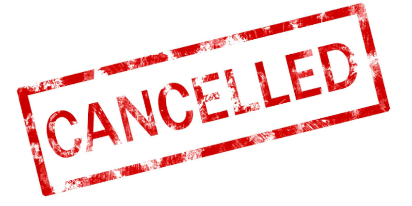 DCC's  Postponements and Cancellations Due to COVID-19