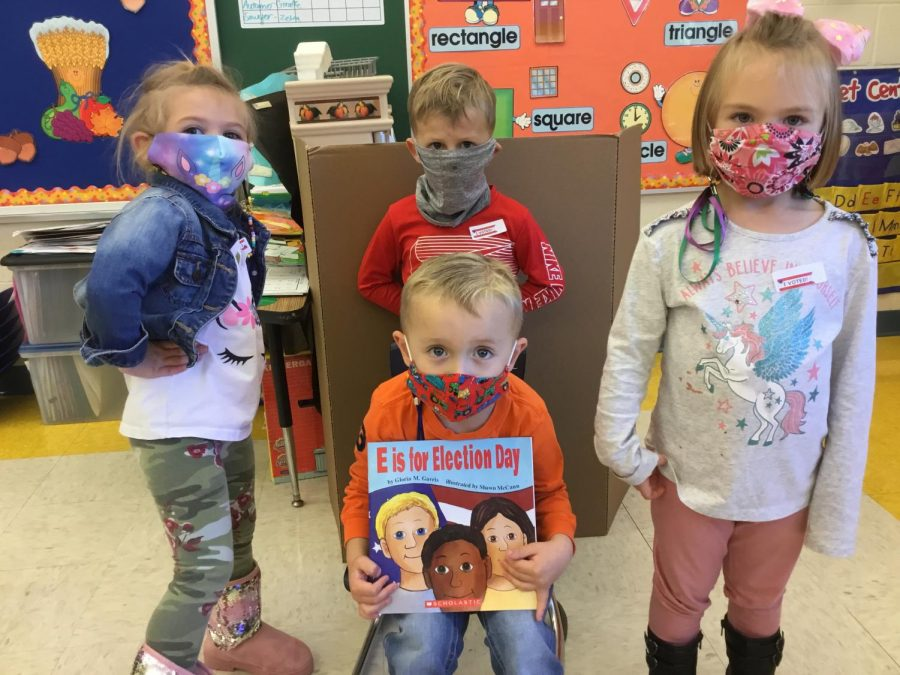DCC Preschool Students Get Out the Vote!
