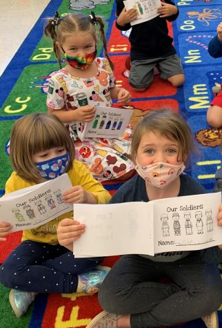 Veterans Day Inspires Lessons for DCC Preschool Students