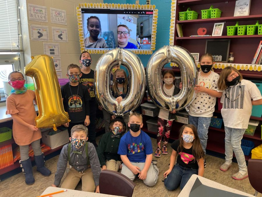DCC Second Graders Celebrate 100th Day of School and Groundhog Day