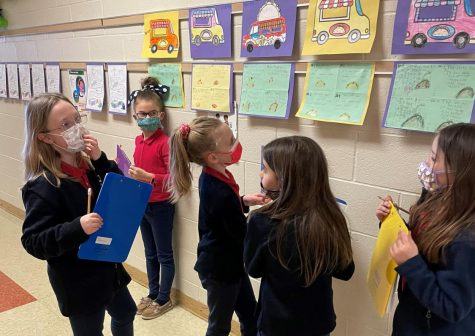 DCC Second Grade Students Enjoy a Project Based Learning Activity with a Taco Theme