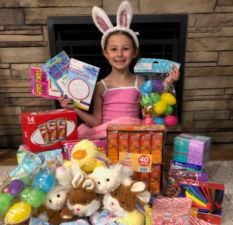 DCC First Grader Takes on Lenten Project