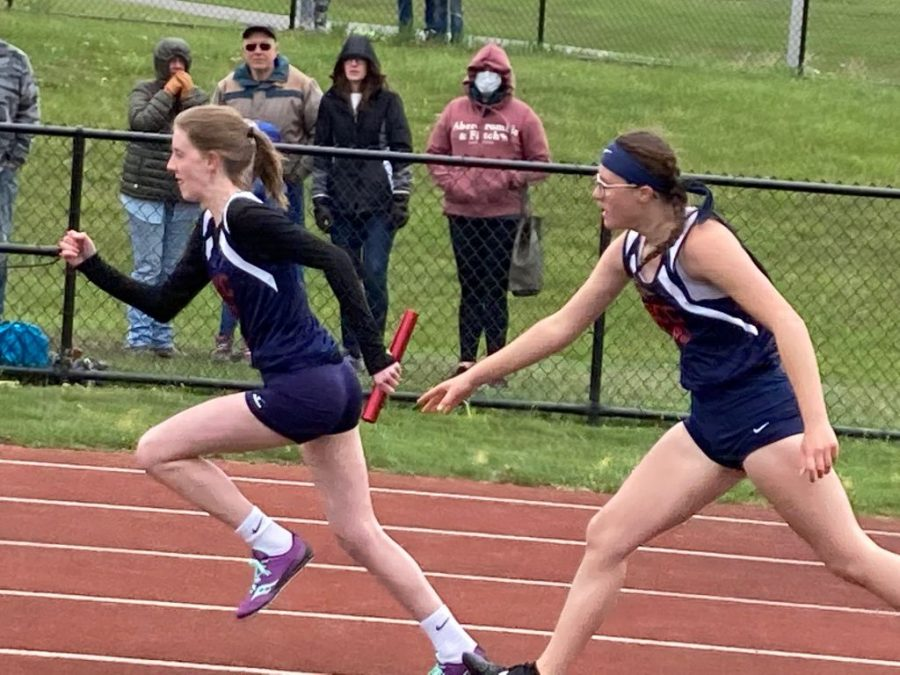 DCC Achieves 3 Event  Sweeps in 5 School Track Meet